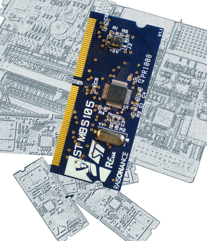 STM8S105 Daughter Board for REva