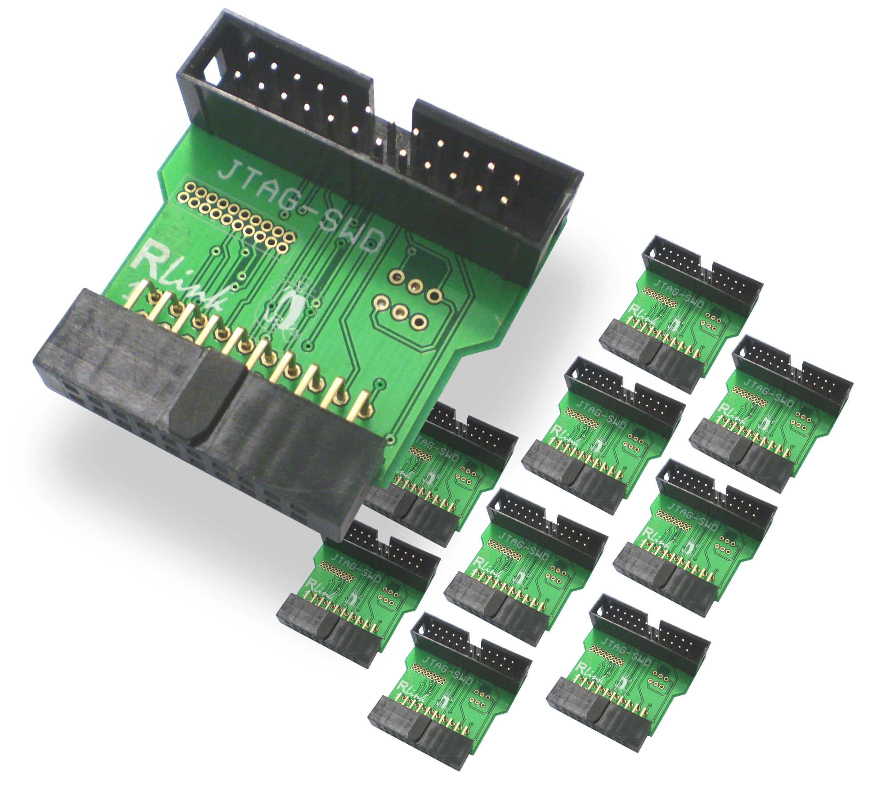 10 RLink Connection Adapters for ARM microcontrollers