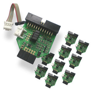 10 RLink Connection Adapters for STM8 and ST7
