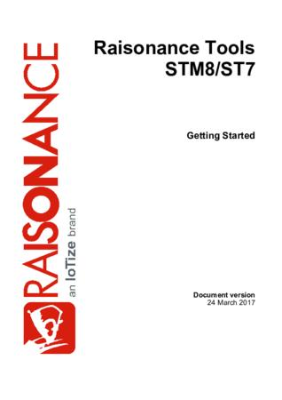 Raisonance Tools for STM8/ST7