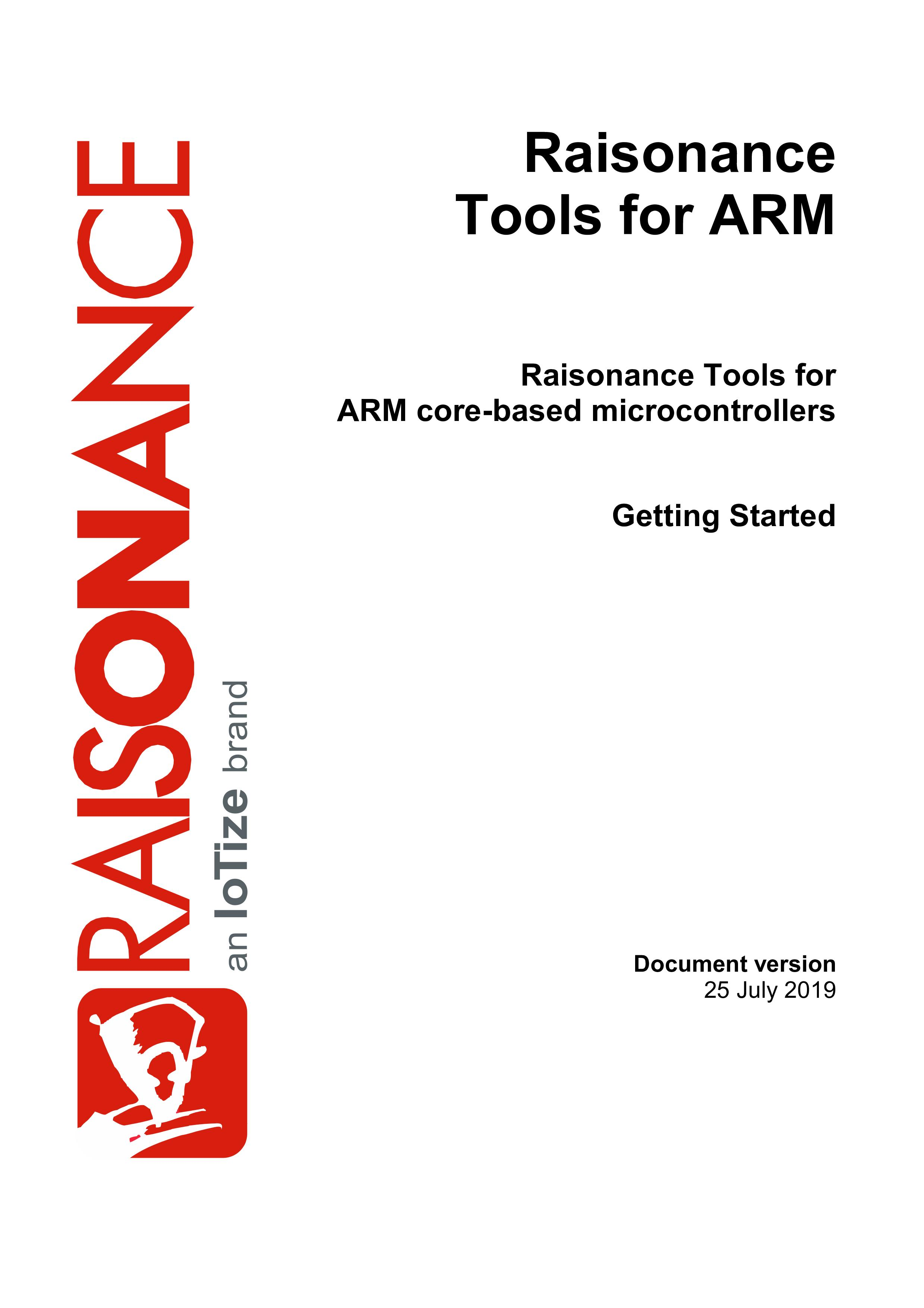 Raisonance Tools for ARM Families